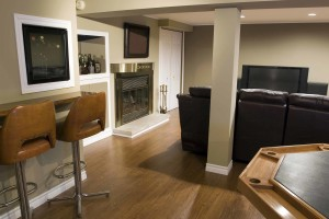 Basement Home Construction in Chicago